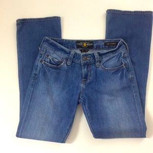 LUCKY BRAND 29 Inseam HALSTED LOLA BOOT SHORT